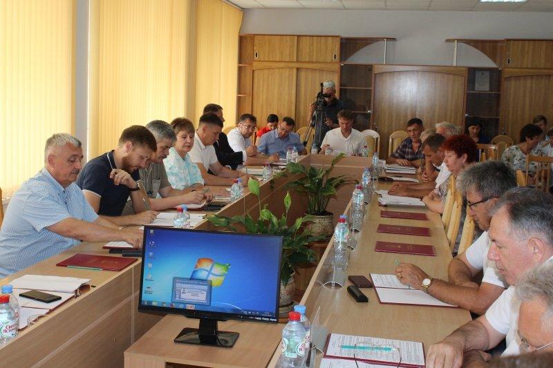 Заседание камышинской городской Думы