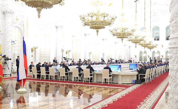 Андрей Бочаров принял участие в заседании Госсовета РФ