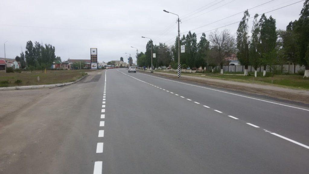 Ремонт дорог в Камышинском районе