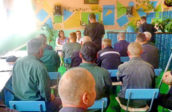 В ИК-24 представители Центра социальной защиты населения провели занятие в рамках работы «Школы по подготовке осужденных к освобождению».