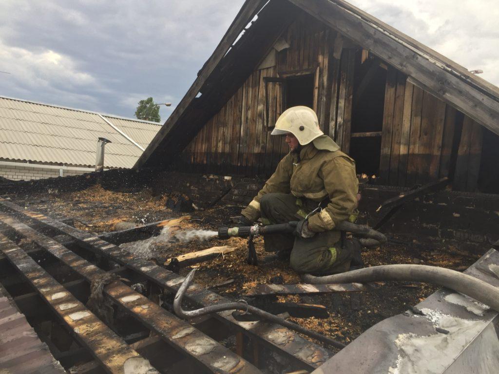 На территории Волгоградской области, и в Камышине в частности, сохраняется чрезвычайная пожароопасность.