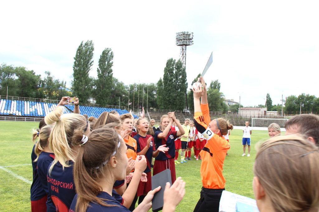 Первенство России по футболу среди юниорок