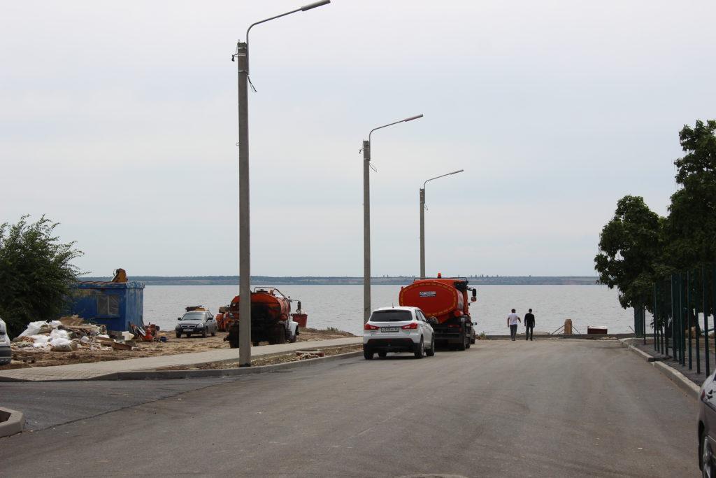 Ремонт улицы Гоголя в Камышине