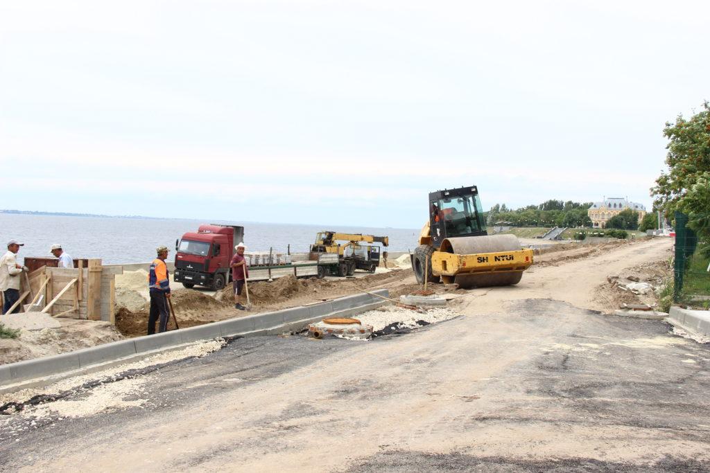 Реконструкция набережной Камышин 2019 год