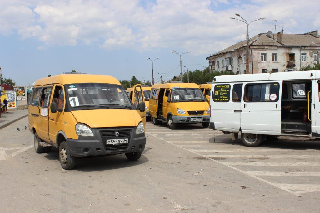 Автобусы и маршрутки Камышина
