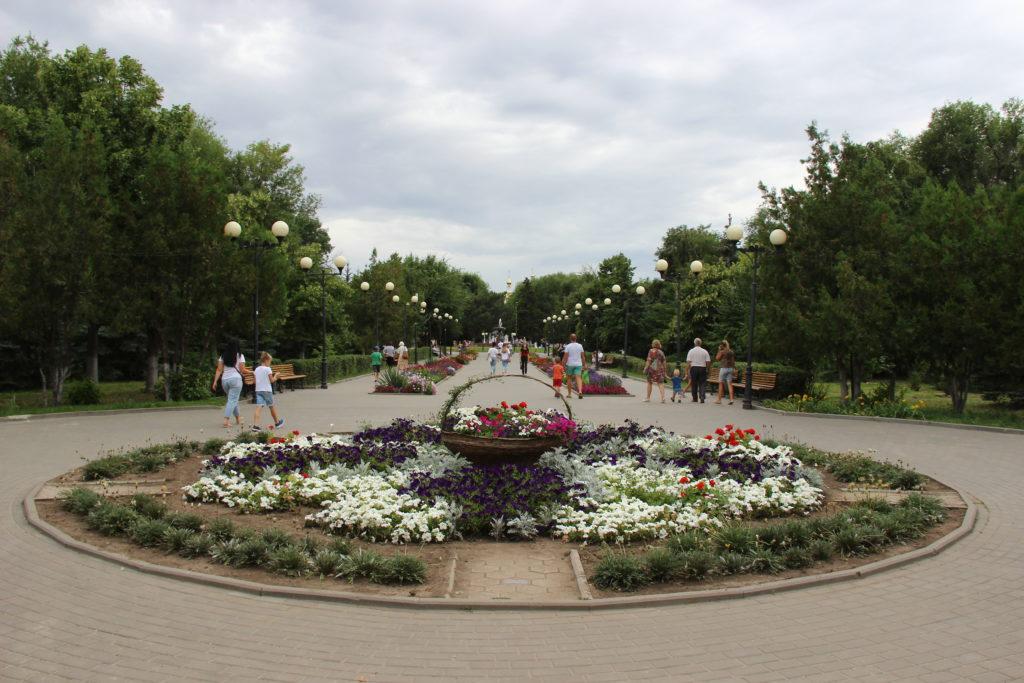На благоустройство центральной аллеи парка им. Комсомольцев-добровольцев направят 3 миллиона рублей