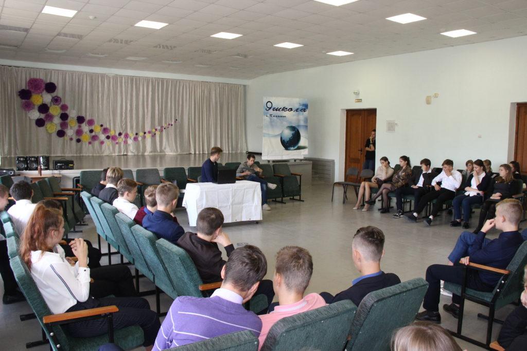В Камышине побывал социальный театр