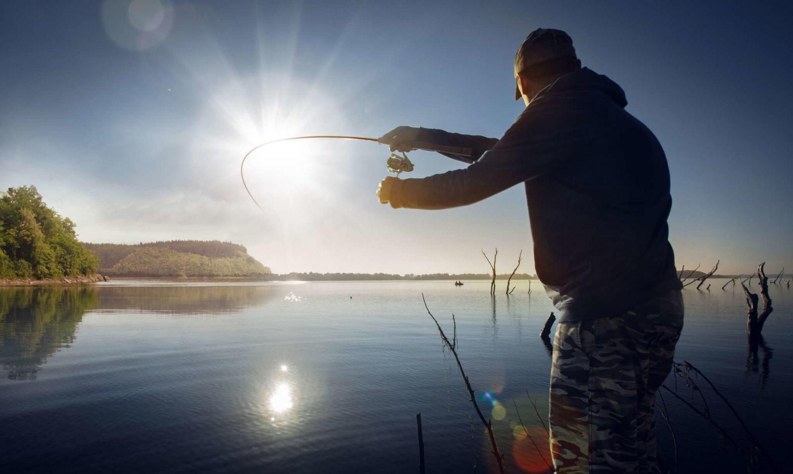 японский картинка мужчина на рыбалке переключения