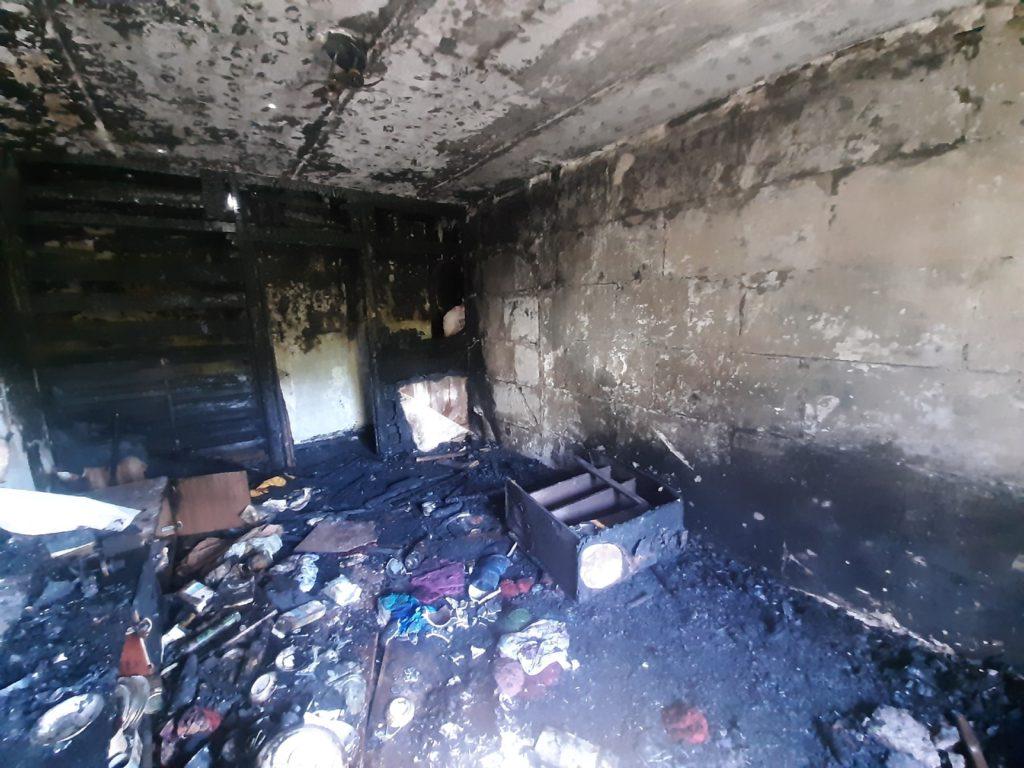 Пожар на ул. Набережная, д.23